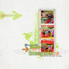 #scrapbook page by Katie Pertiet at DesignerDigitals.com