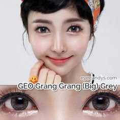 Finish your look with these sultry grey contacts! Grey Contacts, Colored Contacts, Contact Lenses For Brown Eyes, Cosmetic Contact Lenses, Halloween Contacts, Circle Lenses, Color Lenses, All About Eyes, Makeup Yourself