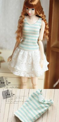 Clear lan | dresses for doll | Momoko clothes | Nippon Misaki clothes| Blythe clothes| Lati-Yellow clothes| doll clothes | clearlan