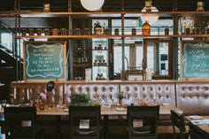 Make Merry Events Rentals At Vanessa Andrews Modern Halifax Wedding Agricola Street Brasserie