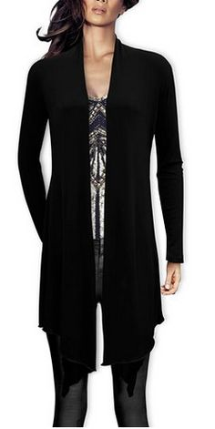 This Long Drape Cheap women's waterfall cardigans can be worn on ...
