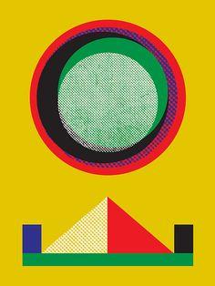 Interview with Communication Arts Art Director + artist Matthew Korbel-Bowers on Viva Bang Bang Art And Technology, Graphic Design Posters, Visual Communication, Geometric Art, Screen Printing, Illustration Art, Character Design, Art Prints, Abstract