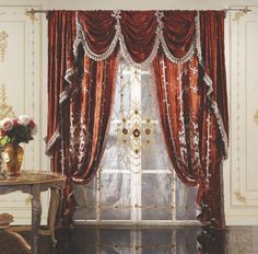 🇮🇹Made in Italy. Order NOW: 📞+971 58 808 45 25 superbiadomus@gmail.com Delivery worldwide✈️🌍 Decor, Elegant, Luxury, Red Curtains, Luxury Curtains, Home Decor, Curtains, Curtain Designs