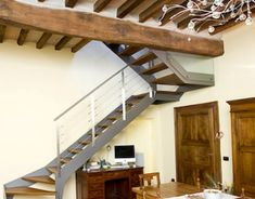 Projects To Try, Stairs, Wood, Home Decor, Houses, Staircases, Resin, Stairway, Decoration Home