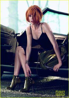 #Hair #NicoleKidman #Red #Bob #JimmyChoo #AutumnWinter2013 www.hairadvisor.ca via (www.justjared.com)