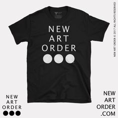 This is a collaboration between New Art Order and David V35This shirt featuring the New Art Order logo, show some love and support for the New Art Order! - find our more at - newartorder.comU...