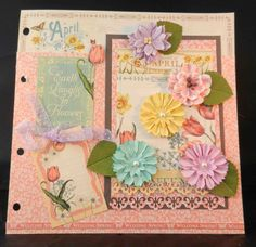 April Page -  A time to Flourish by Jan Kruger