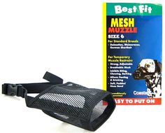 Coastal Pet (Size 6) Black Best Fit Dog Muzzle >> Stop everything and read more details here! : Dog muzzle