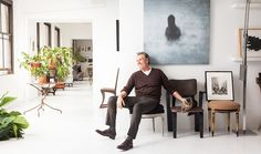 Tour Designer Vicente Wolf's Gorgeous NYC Loft