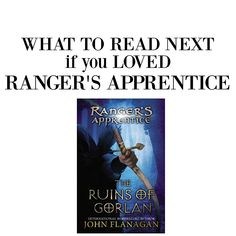 What to Read Next if you Loved Ranger's Apprentice. #books #booklist #booksforboys #goodbooks #series #fantasy