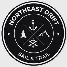 Northeast Drift! 4x4 stickers to show my Northeast pride!