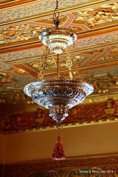 Every fixture in the castle is handmade by the top artisans of the time.
