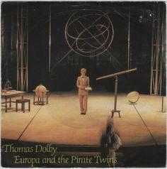 """Thomas Dolby - Europa and the Pirate Twins, 7"""" single, new wave, synth pop #vinyl"""