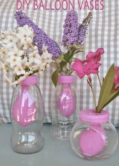 How to make a balloon vase