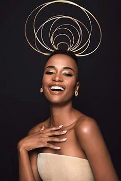 17 breathtakingly beautiful photos of the newly crowned Miss Universe Zozibini Tunzi by South African photographer Garreth Barclay | Channel24