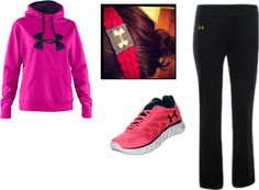 """Under Armor"" by dfrench1976 on Polyvore"
