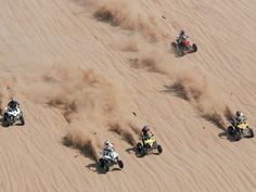 -Race four wheelers