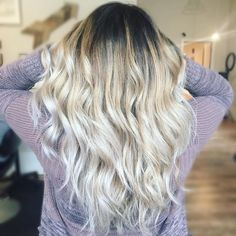 """11 Likes, 2 Comments - Ashley Ballou✂️ (@hairbyashleyballou) on Instagram: """"Obsessed I am always a sucker for a beautiful long balayage. I did a full foilage/balayage with…"""""""