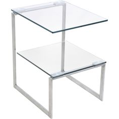 6G Side Table, Clear