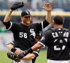 July 23, 2009 Thanks to a spectacular grab by defensive replacement DeWayne Wise of Gabe Kapler's bid for a leadoff home run in the ninth inning, Mark Buehrle tosses the 18th perfect game in major league history, a 5-0 gem.