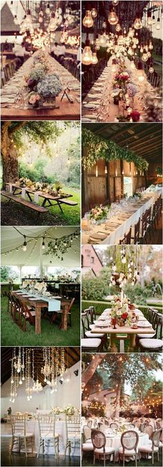 20 Stunning Rustic Edison Bulbs Wedding Decor Ideas | http://www.deerpearlflowers.com/20-stunning-rustic-edison-bulbs-wedding-decor-ideas/