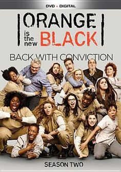 Cover image for Orange is the new black. Season two / directed by Michael Trim ; written by Piper Kerman, Jenji Kohan ; produced by Jenji Kohan, Liz Friedman.