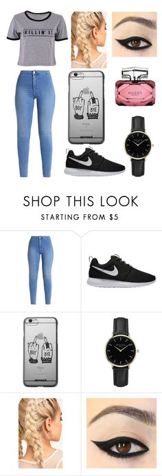 """Untitled #65"" by lucia-xd-1 on Polyvore featuring NIKE, ROSEFIELD and Gucci"