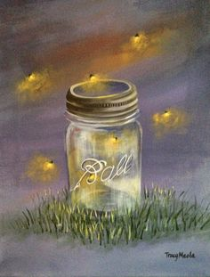 Fireflies Facebook Profile Cover #595544 |Fireflies In A Jar Cover Photo