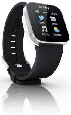 Sony SmartWatch - run android, pairs with phone, looks awesome - CES2012