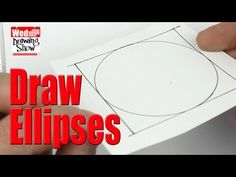 How to Draw Ellipses - The Wednesday Drawing Show