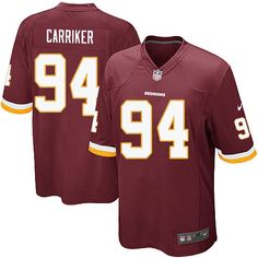 5f147ca28 Nike Redskins Jonathan Allen Burgundy Red Team Color Youth Stitched NFL  Elite Jersey And nfl jersey number 17