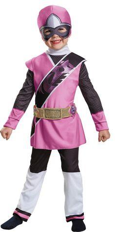 Pink Ranger N Steel Child 4-6
