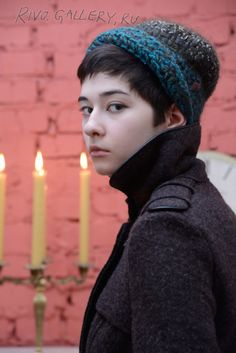 (c) Natalia Rivo 2015 Gallery.ru / foto - Elena Kvita - Available Freeform Crochet, Crochet Hats, My Works, Addiction, Gallery, Flowers, Model, Knitting Hats, Mathematical Model