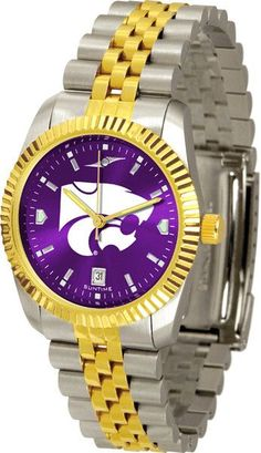 Kansas State Wildcats Men's Executive Watch With AnoChrome Dial
