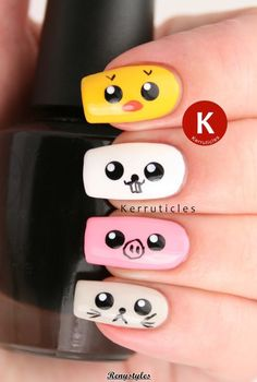 Amazing Animal and Birds Nail Art Designs - Reny styles