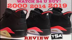 29aa69415d28e4 AIR JORDAN 6 INFRARED 2019 RETRO SHOE REVIEW COMPARISON VS 1991 VS 2000 ...   Sneakers  sneakerhead  sneakernews