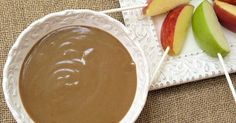 This homemade caramel dip has such a great flavor! So much better than just melting caramels! After it cools, it's thick enough to use as a...