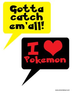 Staff could make our version of these and place them on the walls. Speech Bubbles from Pocket Monster Pokemon Inspired Printable Photo Booth Prop Set Library Themes, Library Ideas, Pokemon Birthday, 8th Birthday, Birthday Parties, Diy Photo Booth Props, Pokemon Photo, Photobooth Props Printable, Printable Designs
