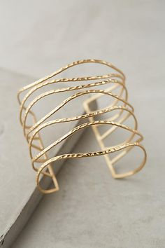 Anthropologie || Clustered Crest Cuff