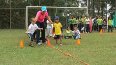 ¡A correr y saltar se dijo!... El día deportivo de los pequeñitos de preescolar fue una maratón completa para fortalecer habilidades motoras que forjarán futuros deportistas.