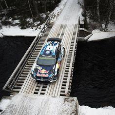 """@seb_ogier on track! @rallysweden #wrc : @jaanusree"""