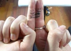 Matching tattoos for best friends, husband and wife, mother daughter or family 5