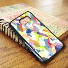 Aztec Geometric White Samsung Galaxy S7 Case