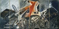 José Clemente Orozco.   Dive Bomber and Tank (1940)