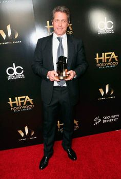 Hugh Grant at the 2016 Hollywood Film Awards in Beverly Hills. Hugh Grant, Film Awards, Height And Weight, Biography, Beverly Hills, Girlfriends, Hollywood, Celebs, Celebrities