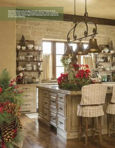 Our home featured in the December issue of At Home in Arkansas...