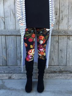 Please, can I wear these like every day?  <3         Agnes & Dora's SUPER soft leggings - with floral, modern, and vintage prints to keep you on trend.