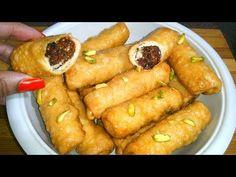 सफर में मीठा खाने का मन हो तो खाये नई खस्ता रोल मिठाई स्वाद जुबां को भा जायेगा |Khasta Roll sweets - YouTube