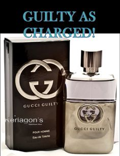 """Gucci Guilty Pour Homme By Gucci Edt Spray 3 Oz - $71.99. Top notes of sparkling Italian lemon, pink peppercorn & lavender. The dry down features Giannini note patchouli & cedarwood. The perfect exterior for the image of the man who wears it: a sexy, fearless, risk-taker."""" Now that's just nasty good!!   20% off any order over $50 plus free shipping. Code SWEETHEART16 at check out! Offer ends 2-15-2016!  http://kerlagons.authsafe.com/gucci-guilty-pour-homme-by-gucci-edt-spray-3-oz-p-4079.html"""