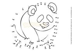 Connect Number 1-40 - math Worksheets - preschool Worksheets